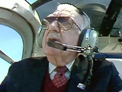 CBS anchor Walter Cronkite helped WRAL News launch an environmental awareness campaign in 1989.