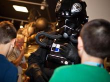 "Some of Hollywood's finest visited the Durham Museum of Life and Science on Saturday for ""Heroes, Villains and Special Effects."" The event featured those who have worked behind the scenes in the film making."