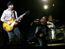 The iconic band U2 performed at Carter-Finley Stadium in Raleigh on Oct. 3, 2009.
