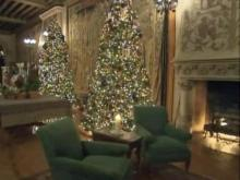 Biltmore Estate decked out for holidays
