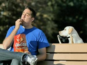 The Doritos dog commercial was made by 5 Point Productions in Raleigh.