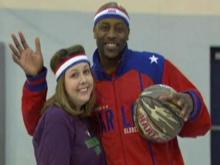 Entertainment wrap: Globetrotter training