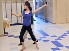 Renee learns to 'Dance Like the Stars'