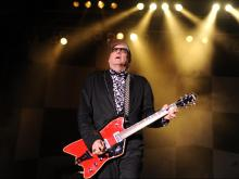 Rick Nielsen of Cheap Trick during the 2010 Benefit Concert for the Rock and Roll Hall of Fame, Saturday, May 1, 2010 at the Koka Booth Amphitheatre in Cary, N.C.