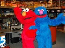 Elmo and Grover