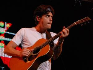 John Mayer performed at the Time Warner Cable Music Pavilion at Walnut Creek on July 17, 2010.