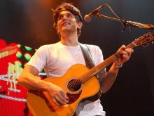 WRAL.com's Kathy Hanrahan photographed John Mayer and Train, who performed at the Time Warner Cable Music Pavilion at Walnut Creek on Saturday.