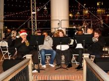 Durham's annual holiday lights festival began with musical entertainment Dec. 3, 2010.