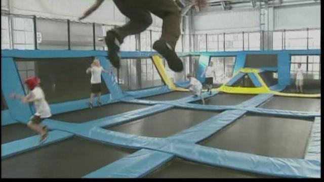 Trampoline parks push fitness, jobs