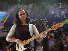 Rush performed Saturday night at the Greensboro Coliseum.
