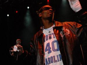 Snoop Dogg performed a free concert for University of North Carolina at Chapel Hill students on April 23, 2011, at the Raleigh Amphitheater.