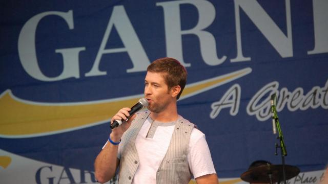 American Idol finalist Scotty McCreery was joined by country singer Josh Turner.