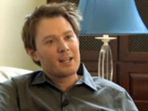 """American Idol"" runner-up Clay Aiken talks to WRAL News in May 2011."
