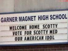 Garner residents cheer for Scotty
