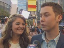 Web only: Scotty, Lauren after the show