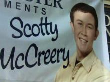 Garner sends love to hometown hero Scotty