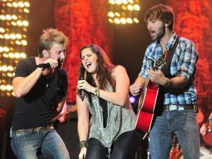 Lady Antebellum performs at Rapids Jam 2011 in Roanoke Rapids, N.C., on Saturday, June 18, 2011.