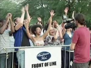 "About 8,000 singers gathered in Charleston Friday in hopes of making it onto season 11 of ""American Idol."""