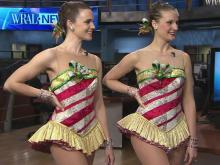 Video: Rockettes hit WRAL studios