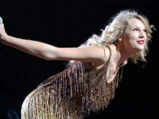 Taylor Swift performed at the RBC Center in Raleigh on Nov. 17, 2011.