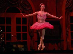A look at a rehearsal of Carolina Ballet's The Nutcracker on Nov. 30, 2011.