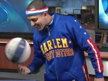 Globetrotters show tricks at WRAL