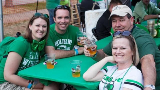 St. Patty's Day at Hibernian 2012.