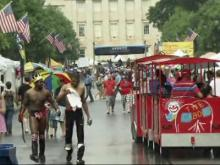 Raleigh celebrates Fourth of July