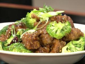 Five Star's General's Chicken, one of their special dishes.