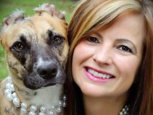 Susie and her owner, Donna Lawrence