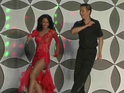 Michelle Marsh Cha Chas In Dancing Like The Stars Wralcom