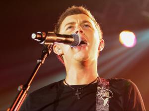 Scotty McCreery performs Monday, Oct. 21, 2013, at the North Carolina State Fair. (Photo By Anthony Barham)