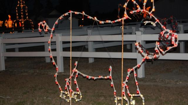 The Meadow Lights display in Benson has been around for more than 40 years.