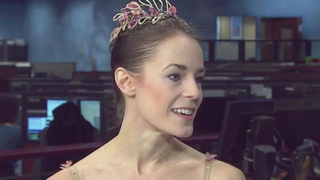 Lara O'Brien is the principal dancer with the Carolina Ballet.