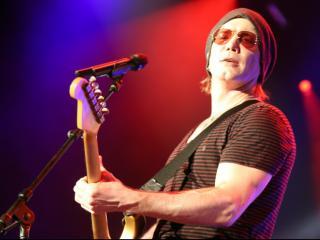 The Goo Goo Dolls rocked Walnut Creek Amphitheatre on Tuesday, July 8, 2014 in Raleigh, NC.  (Photo by Jack Morton)