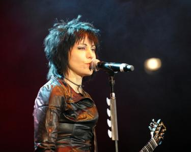 Joan Jett and the Blackhearts rocked Dorton Arena at the N.C. State Fairgrounds in Raleigh on Sunday, October 26, 2014.