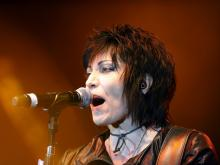 Joan Jett & the Blackhearts performed at Dorton Arena during the N.C. State Fair on Oct. 26, 2014.