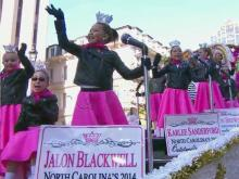 Parade part 12: Knightdale band to Raleigh Convention Center