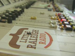 Little Raleigh Radio is applying for an FCC license to move from Internet to on the air.