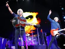 The Who Hits 50! On the first leg of their U.S. Tour visit PNC Arena on Tuesday April 21, 2015 in Raleigh N.C. Drawing from early classics, Roger, Pete, and John got the crowd on their feet from the first song and kept them rocking all night.