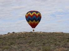 Balloon pilot achieves lifelong dream