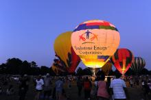 The 2015 WRAL Freedom Balloon Fest took place at Spring Forest Park in Raleigh, on Sunday, May 24, 2015.