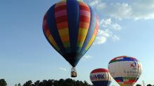 IMAGE: WRAL Freedom Balloon Fest kicks off with flyover, veterans' salute