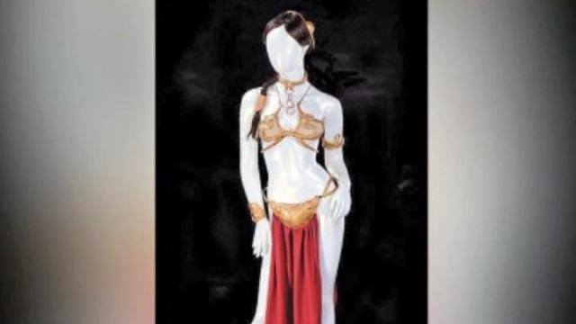Iconic Princess Leia bikini up for auction in October