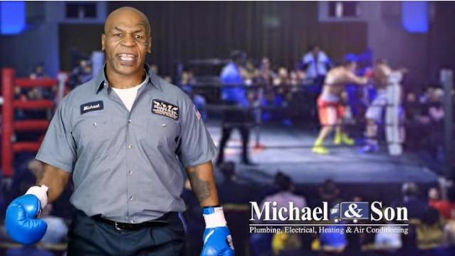 "While the ""puppymonkeybaby"" Super Bowl commercial had people talking around the country Monday, many on the East Coast were also buzzing about a Michael and Son commercial featuring Mike Tyson."
