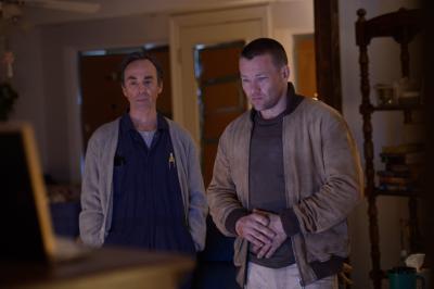 "David Jensen as Elden and Joel Edgerton as Lucas in director Jeff Nichols' sci-fi thriller ""Midnight Special."" (Deseret Photo)"