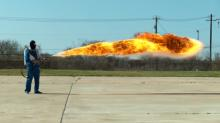 IMAGE: Have You Seen This? Slow mo flamethrower