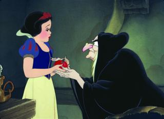 "Snow White and the Wicked Queen in ""Snow White and the Seven Dwarfs."" The Hollywood Reporter recently announced that Disney is working on a movie about Snow White's sister, Red Rose. (Deseret Photo)"