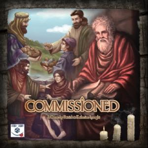 Commissioned is a historically based, cooperative-style board game for two-six players that takes an hour. Acting as the apostles of the early Christian Church, players must work together to strengthen their individual decks of faith cards, grow the church, collect the books of the New Testament and overcome persecution. (Deseret Photo)