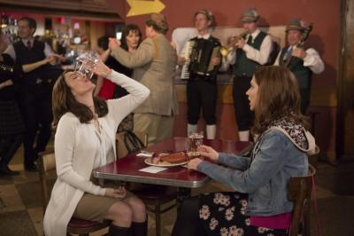 Tina Fey and Ellie Kemper in Unbreakable Kimmy Schmidt (2015) (Deseret Photo)
